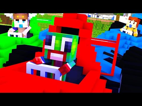 Minecraft WHO'S YOUR DADDY? ILLEGAL STREET RACING!