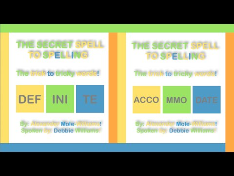 How To Spell Definite (ly) & Accommodate - The Secret Spell To Spelling
