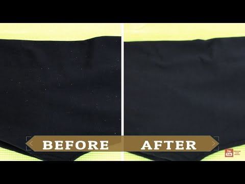 HOW TO REMOVE LINT | EASY LINT REMOVAL |  FAST PILLING REMOVAL