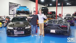 Visiting the Hidden SAVAGE GARAGE Supercar Collection!