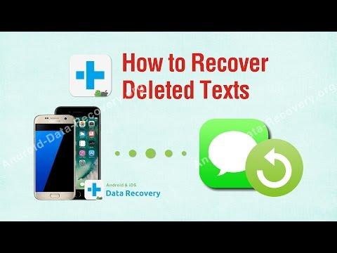How to Recover Deleted Texts, Restore Deleted Text Messages