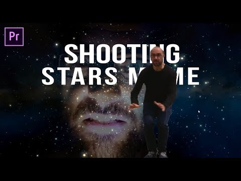 [TUTORIAL] How to Make Shooting Stars Meme | Adobe Premiere Pro CC 2017