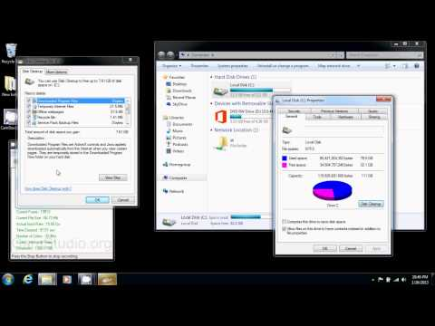 How to Free Up Space on Your HardDrive in Windows 7