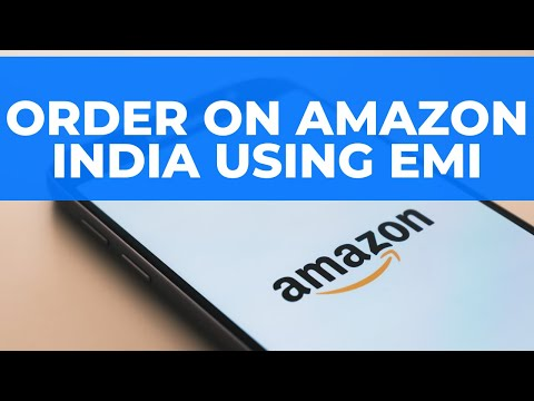 Order on Amazon India using EMI: Credit Card ki EMI se kaise Order Karein?