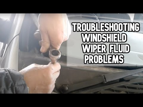 Troubleshooting windshield wiper fluid problems | 2003 Chevy Trailblazer DIY video | #diy #wiper