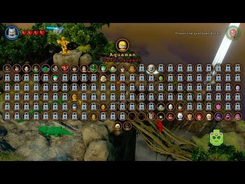 Lego Batman 3 : Desbloqueando Aquaman e Terra de Odym - Gameplay PS4