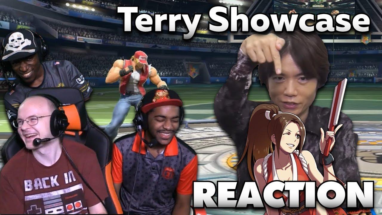 Mew2King, Salem, Dark Wizzy & Domo React to Mr. Sakurai's Terry Showcase [11.6.2019]