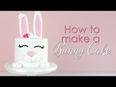 How to make a Bunny Rabbit Cake Tutorial