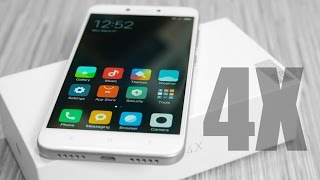 Xiaomi Redmi 4X (Sold as Redmi 4 in India) - Unboxing & Hands On!