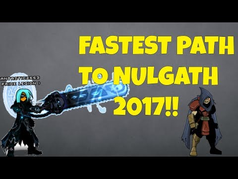 AQW - HOW TO GET TO NULGATH 2017!