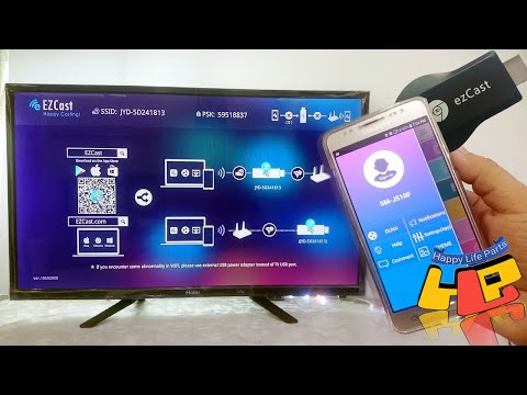 EZCast How To Connect Smartphone To OLD TV LED TV HDTV