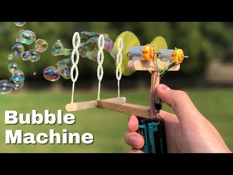 How to Make Amazing Bubble Machine at Home