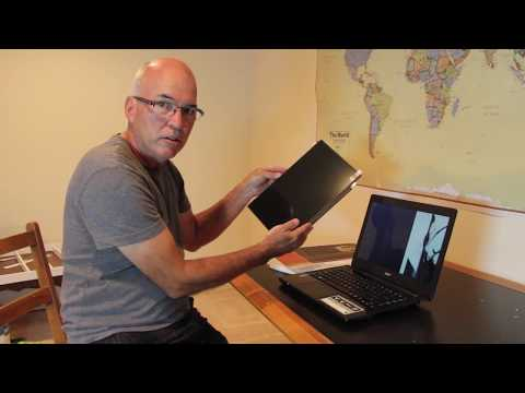 Laptop screen replacement / How to replace laptop screen Acer Aspire E14