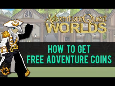 =AQW= How To Get FREE Adventure Coins (FASTEST WAY)