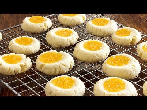 Lemon Curd Thumbprint Cookies Recipe | HappyFoods