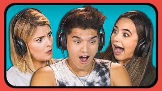 YOUTUBERS REACT TO SPONGEBOB SQUAREPANTS ANIME