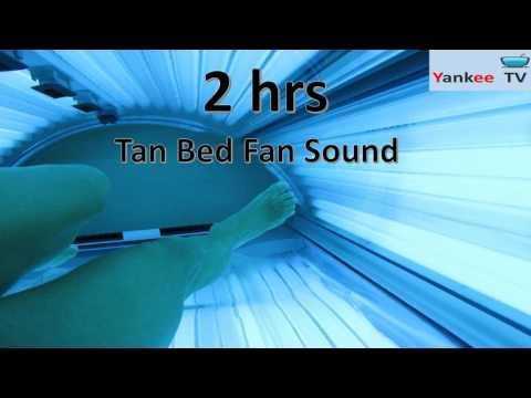 Tanning Bed Fan Sleep Sound / White Noise / Best Way To Sleep