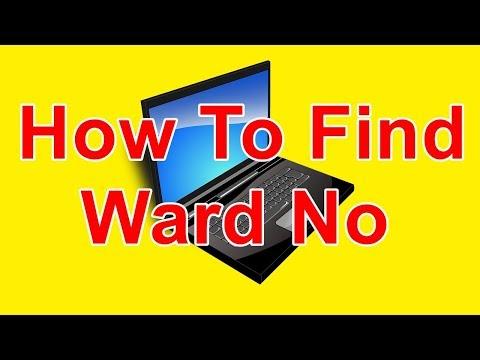 how to find my  ward no/circle range/AO code