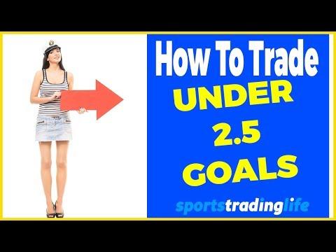 ️⚽️⬇️Trading Under 2.5 Goals On Betfair - 3 Profitable Strategies + EXIT Methods