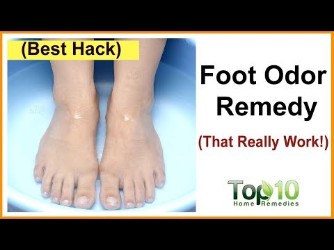Foot Odor Home Remedy - A Surefire Way to Get Rid of Smelly Feet
