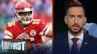 Nick Wright explains why Chiefs are one of the top two teams in the NFL | FIRST THINGS FIRST