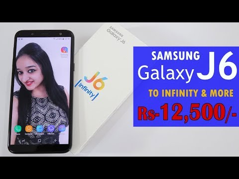 Samsung Galaxy J6 - Unboxing & Overview - In Hindi