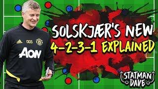 Ole Gunnar Solskjaer's NEW 4-2-3-1  | Manchester United 2019/20 Tactics Explained