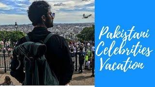 Pakistani Celebrities at Vacation Pictures | Ahad Raza Mir | Sunita Marshal