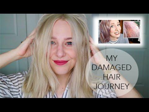 1 YR UPDATE! DAMAGED HAIR PROGRESS + best products
