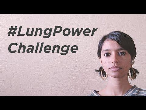 Sofia Ashraf 24 Seconds Breathless Rap #LungPowerChallenge