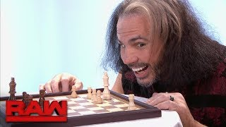 """Woken"" Matt Hardy moves his pieces into position: Raw, Dec. 18, 2017"