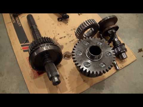 NP241 DHD Transfer Case Dissasembly Part 2