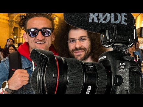 Why CASEY NEISTAT SWITCHED to the Canon 6D Mark II for Vlogging