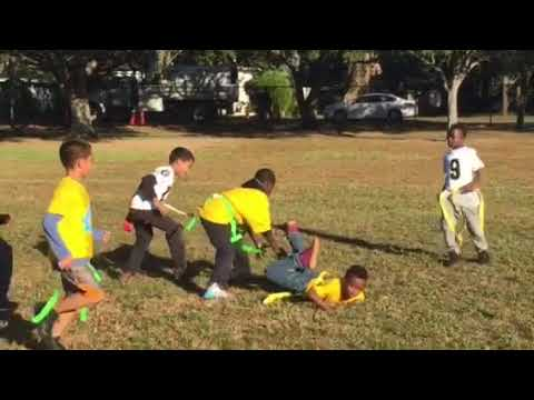 City of Tampa 2017 youth flag football league (Desoto Park)