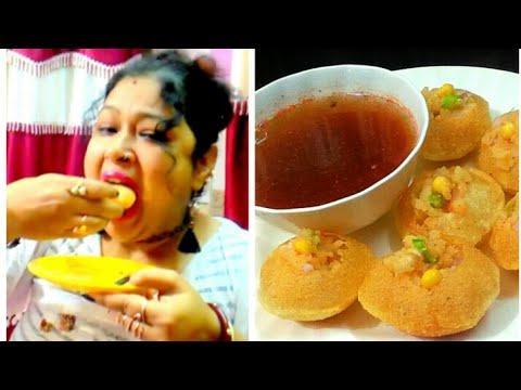 Crunchy Pani Puri at Home - Gol Gappay Golgappa Recipe – Puchka Fuchka Gupchup Panipuri