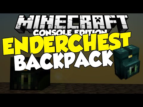 Minecraft [CONSOLE] ENDER CHEST BACKPACK - GLITCH (XBOX ONE, XBO360, PS3, PS4, PS VITA)