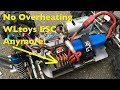How To Prevent WLtoys ESC From Overheating / Cutting Out!
