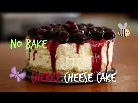 No Bake Cheesecake Recipe _ Easy Cherry Cheesecake Recipe