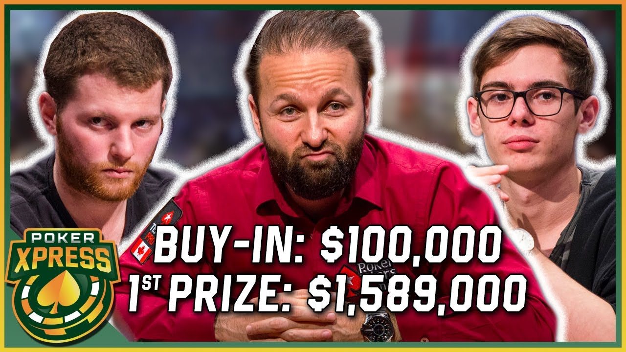 Daniel Negreanu in a star-packed SUPER HIGH ROLLER FINAL TABLE!