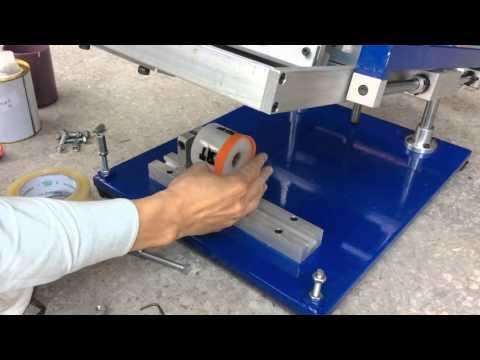 Upart silicon wristband silk screen printing machine
