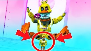 NIGHTMARE CHICA HAS A BABY! (Gmod For Kids FNAF Funny Moments)