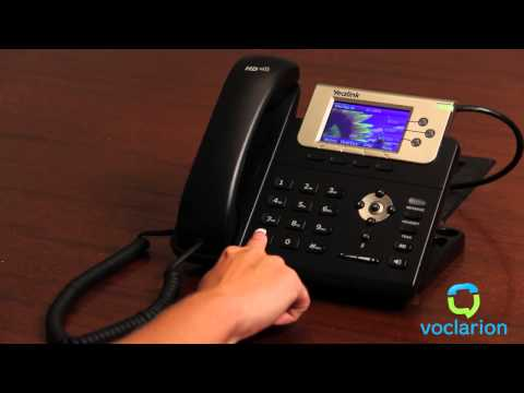 Voclarion: Call Forward No Answer - Forward to Mobile Device