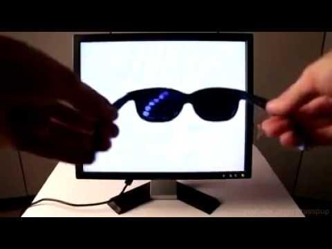 trick membuat kacamata 3D  Layar Monitor Komputer
