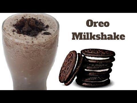 Orio Mikeshake | oreo milkshake without icecream | 2 Minutes Oreo Milkshake