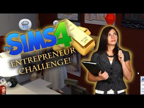 STARTING A NEW BUSINESS | Sims 4 Entrepreneur Challenge #1