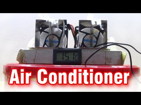 How To Make Mini Air Conditioner at Home