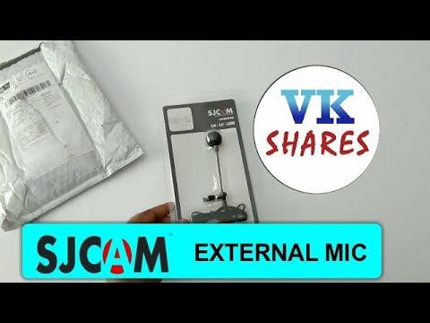 External mic for SJCAM