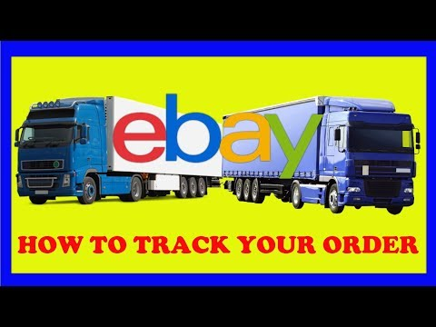 How To Track An Order On eBay - Using eBay tracking number