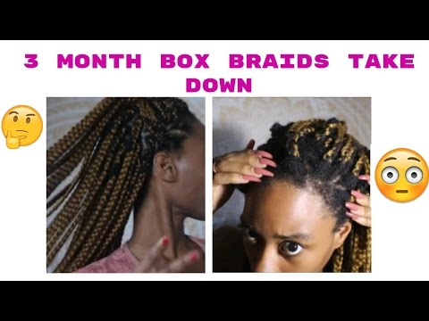 What Wearing Box Braids For 3 Months Did To My Hair