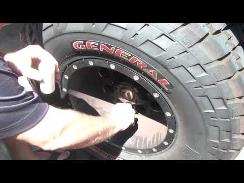 E-Z tyrebeads tire beads install balance early bronco